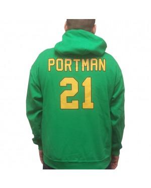 Dean Portman #21 Ducks Jersey Hoodie