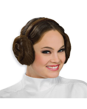 Princess Leia Star Wars Headband Wig
