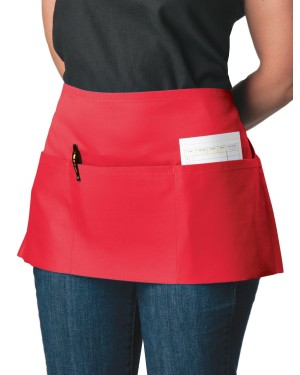Red Waitress Apron