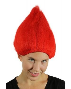 Red Troll Wig