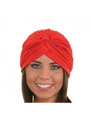 Red Spandex Turban