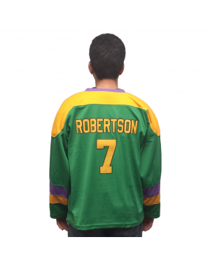 Dwayne Robertson #7 Ducks Hockey Jersey