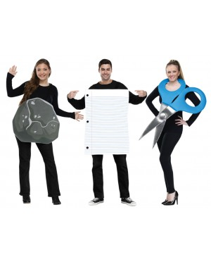 Rock Paper Scissors Costume