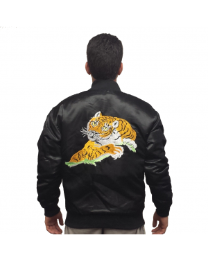 Rocky Balboa Tiger Black Jacket
