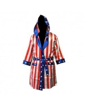 Rocky American Flag Robe