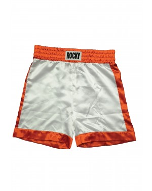 White Boxing Shorts Rocky Balboa