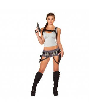 Sexy Treasure Huntress Womens Costume