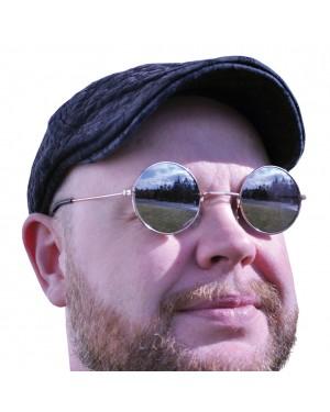 Round Mirrored Hippie Sunglasses