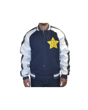 Space Dandy Star Logo Baseball Jacket
