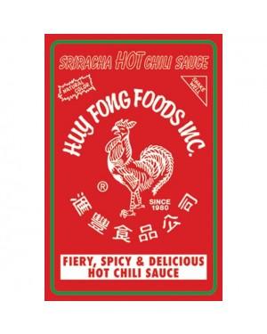 Sriracha Label Poster