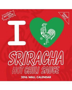 Sriracha 2016 Wall Calendar