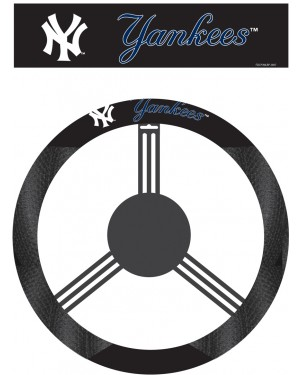 New York Yankees Steering Wheel Cover