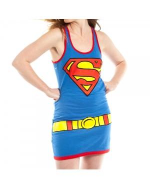 Supergirl Womens Tank Dress Costume