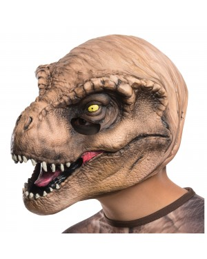 Jurassic World T. Rex Child 3/4 Vinyl Mask