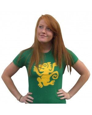 Green Monkeys Legends of the Hidden Temple Womens T-Shirt