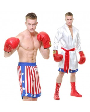 The Boxer Adult Costume