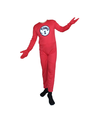 Thing 1 Adult Costume