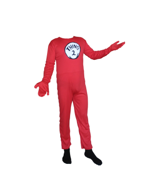 Thing 2 Youth Costume
