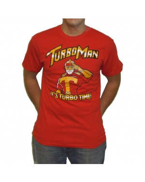 Turbo Man It's Turbo Time T-Shirt