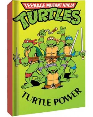 Turtle Power Teenage Mutant Ninja Turtles Hard Cover Notebook