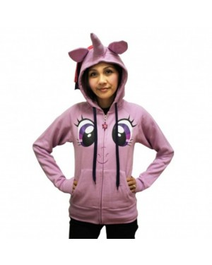Twilight Sparkle Face My Little Pony Hoodie Costume