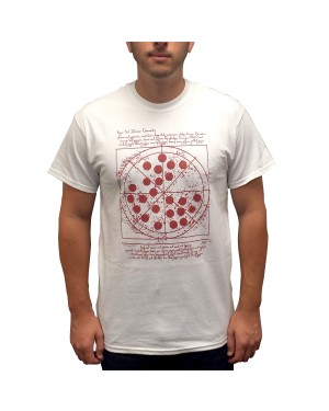 Vitruvian Pizza T-Shirt