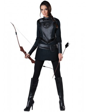 Warrior Huntress Hunger Games Costume