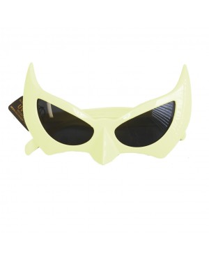 White Bat Style Sunglasses