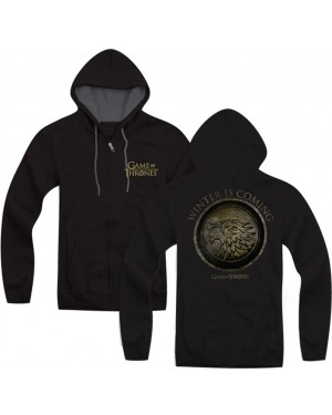 Game Of Thrones Winter Is Coming Zip Up Hoodie