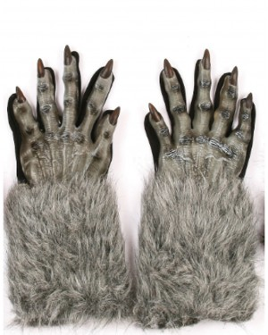 Werewolf Gloves - Grey