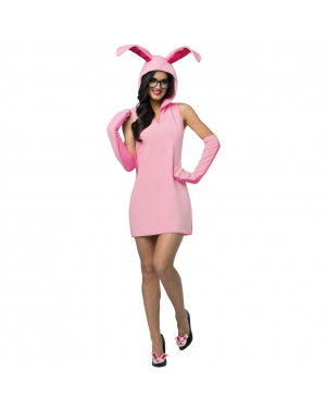 A Christmas Story Ralphie Womens Bunny Suit Costume