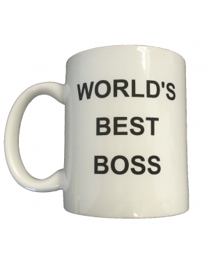 Michael Scott's World's Best Boss Coffee Mug