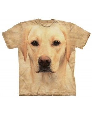 Yellow Lab Face T-Shirt