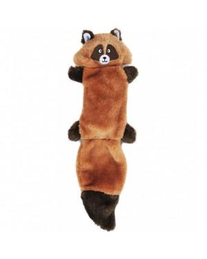 Zingy Raccoon Squeak Dog Toy