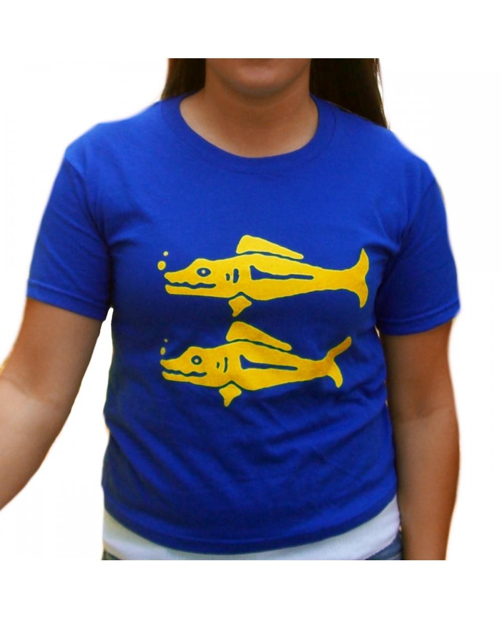Blue Barracudas Team Costume  Outfit Costume Royal Blue Basic Men/'s T-Shirt