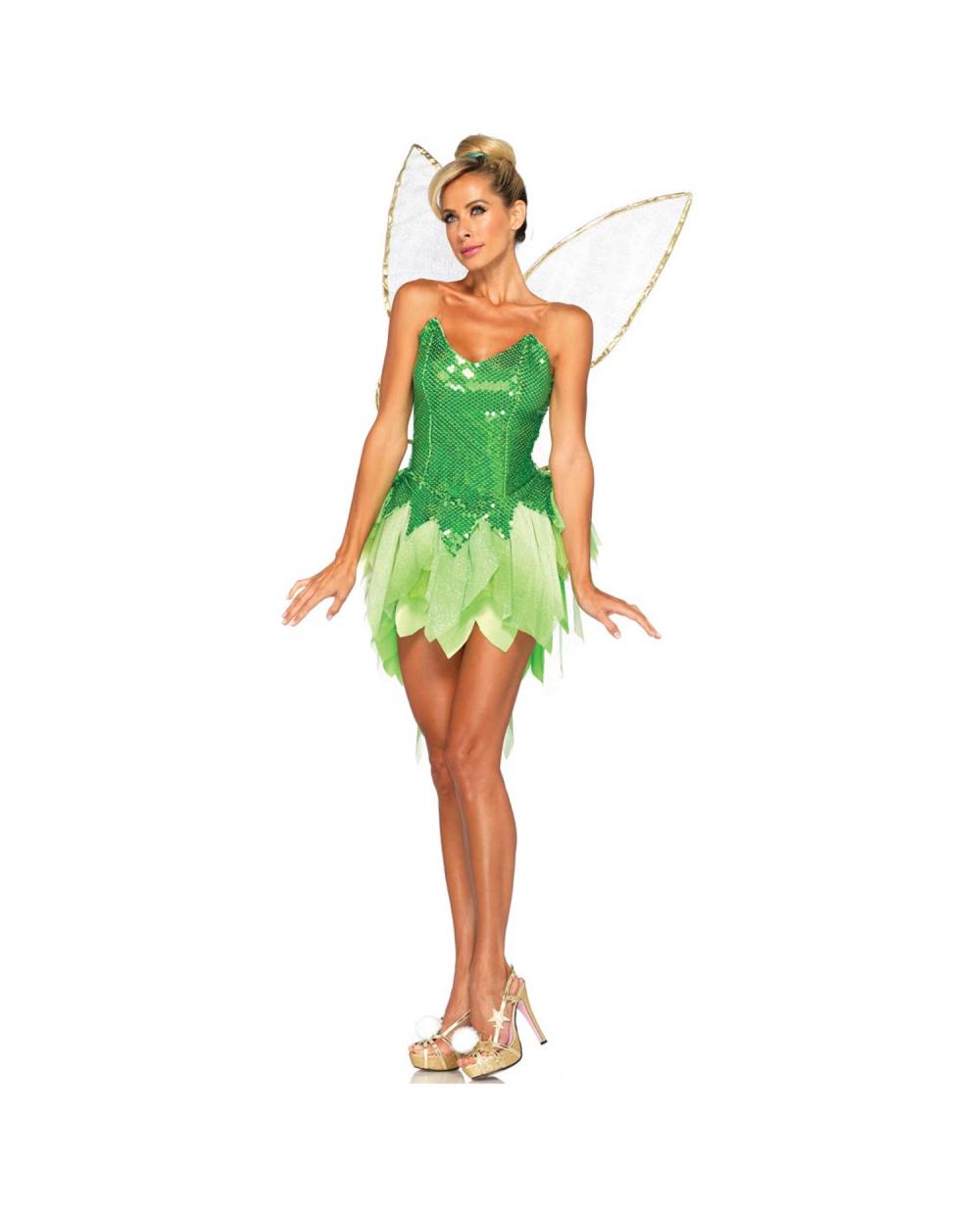 b4c182137 Deluxe Tinker Bell Womens Costume Sc 1 St Meningrey