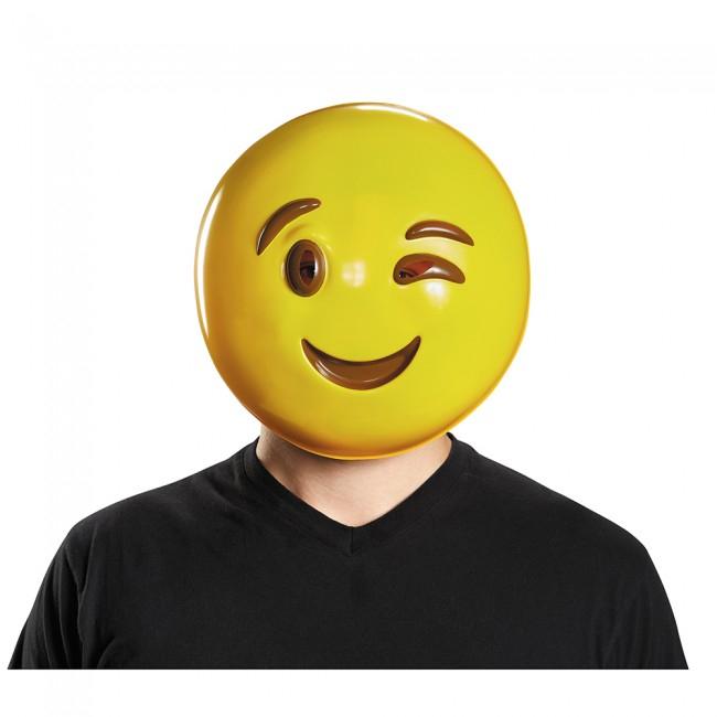 Emoji Masks (Choose Your Mask) Smile Wink Emoticon Phone ...