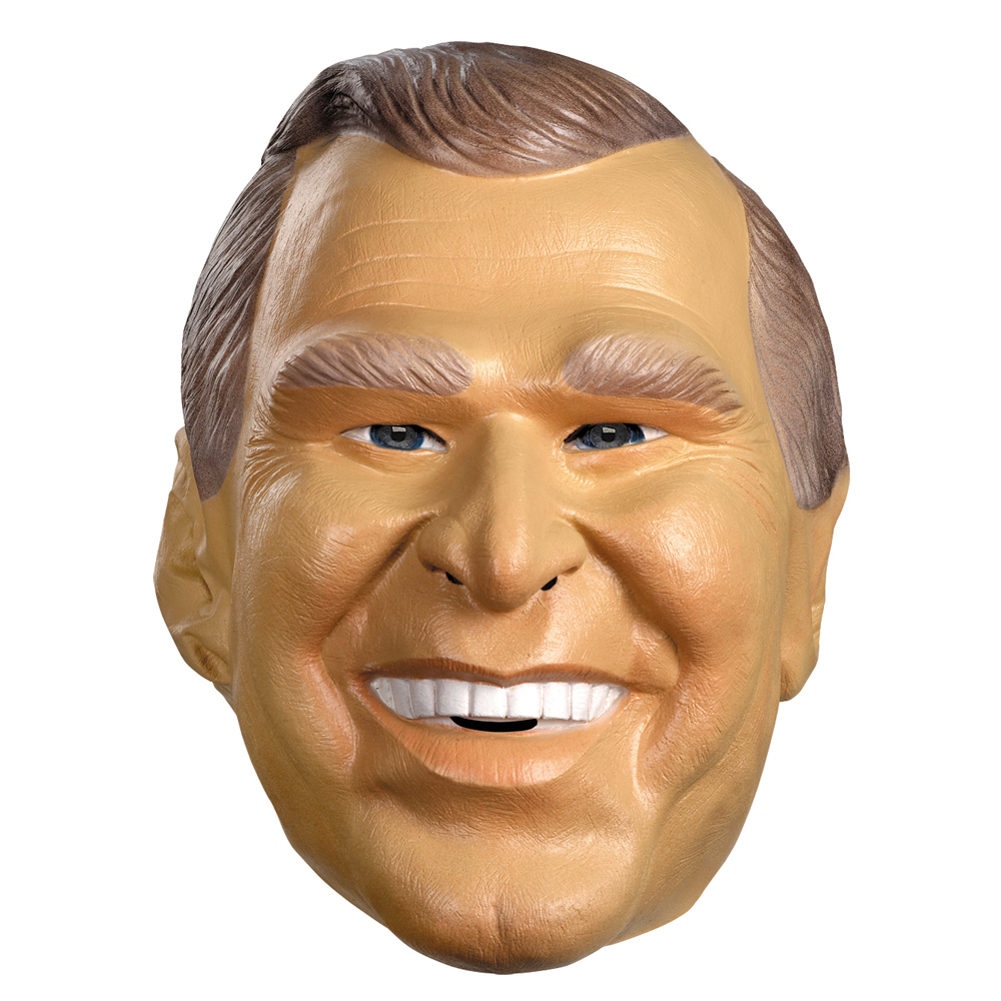 Presidential Masks (Choose President) Clinton Bush Carter Reagan ...