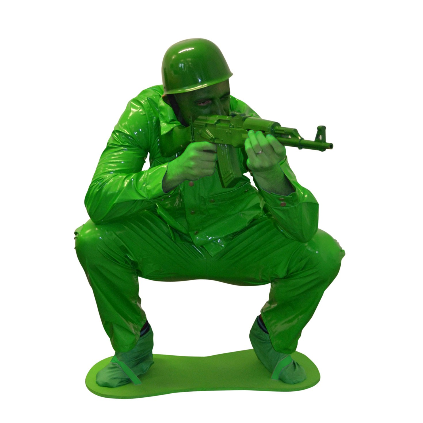 Army Toys Color : Toy soldier adult costume army man men green story