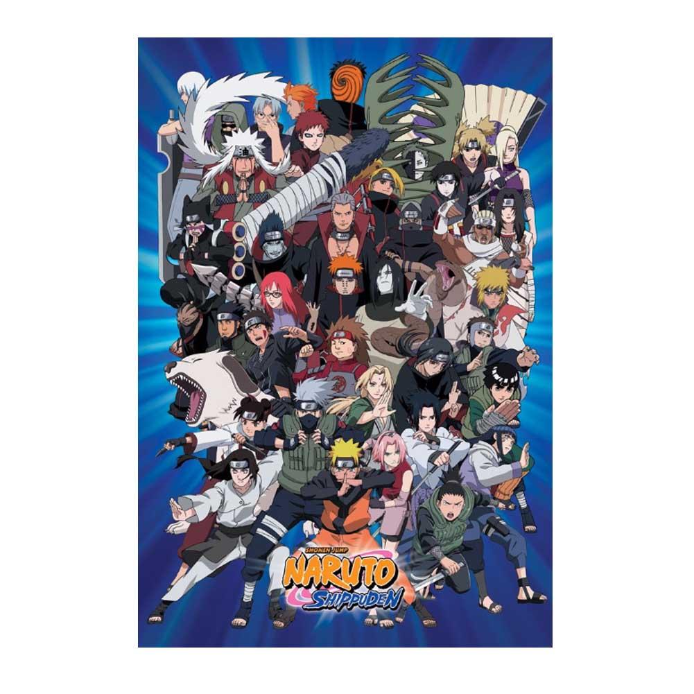 """Naruto Poster 24"""" X 36"""" Anime Manga Characters"""