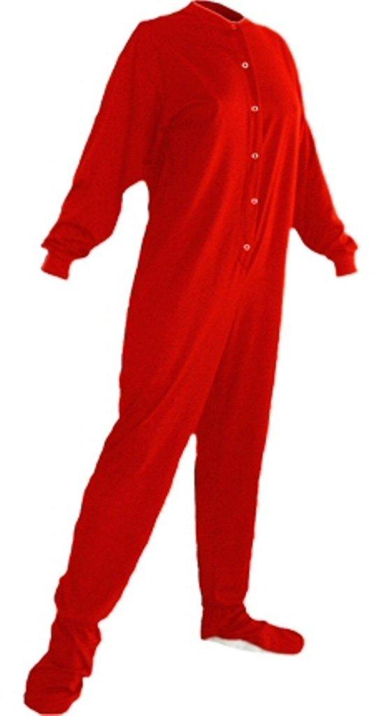 Adult Footed Drop Seat Pajamas 91
