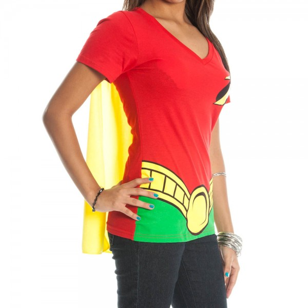 Womens Robin Shirt With Cape