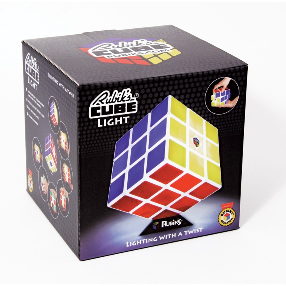 Rubiks Cube Light Table Novelty Desk Lamp Puzzle Game Gift Old School 80s New eBay