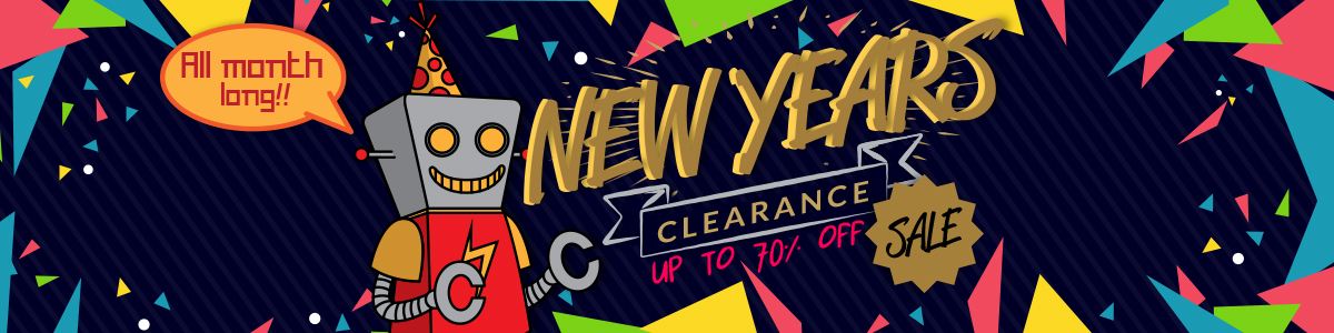 All Month Long! New Years Clearence Sale. Up To 70% OFF.