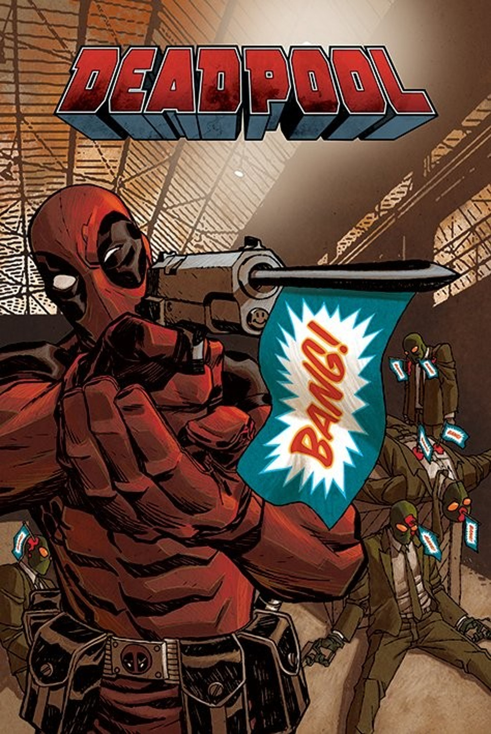 Deadpool bang comic book art print poster 22x34 ebay picture 9 of 9 gumiabroncs Image collections