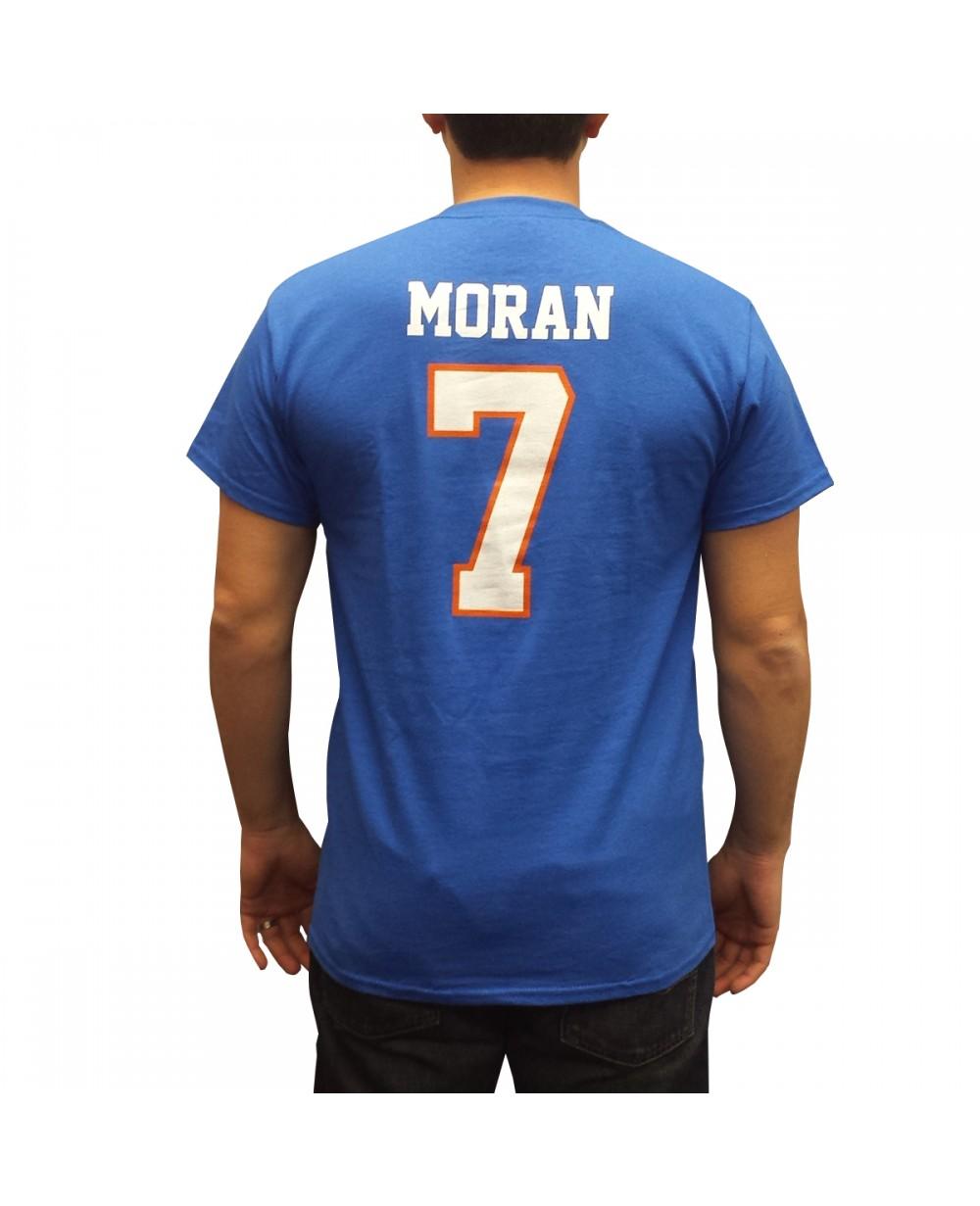 Alex Moran #7 Blue Jersey T-Shirt
