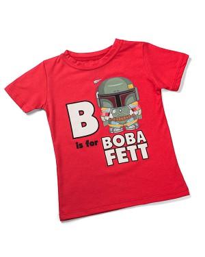 B Is For Boba Fett Star Wars Toddler T-Shirt