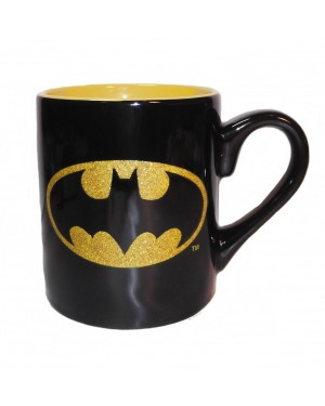 Batman Logo Glitter Coffee Mug