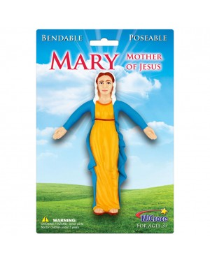 The Virigin Mary Bendable Figure