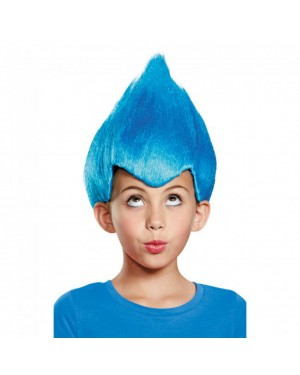 Blue Wacky Wig - Child